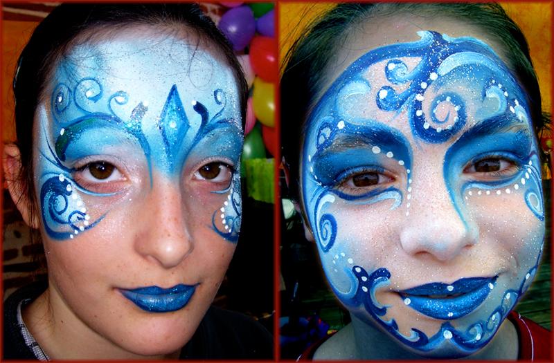 Princesse polaire at maquillage enfant et adulte animation spectacles - Modele maquillage princesse ...