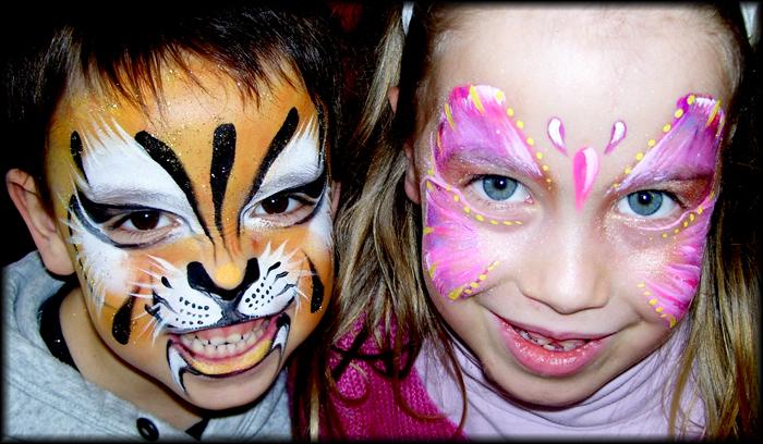 tigre et papillon