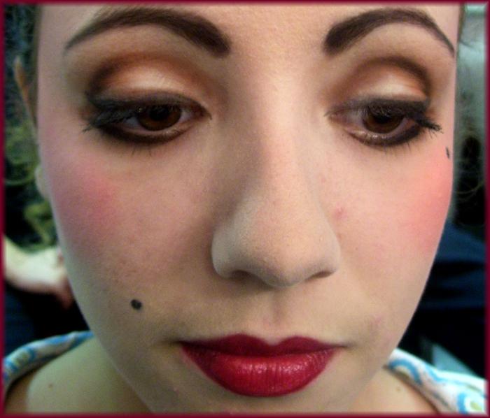 maquillage dans les loges 2