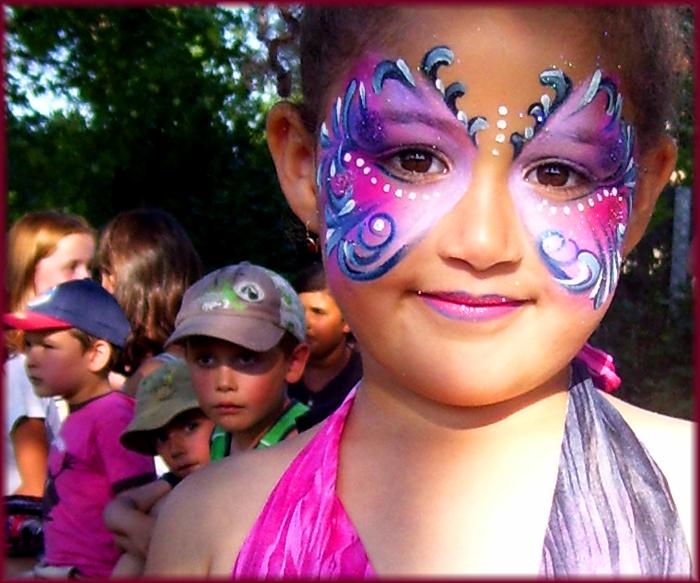 la princesse papillon violet