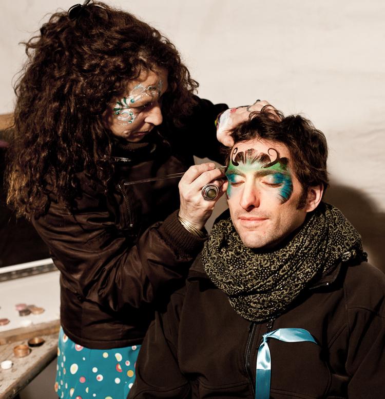 Maquillage des artistes à Montpellier