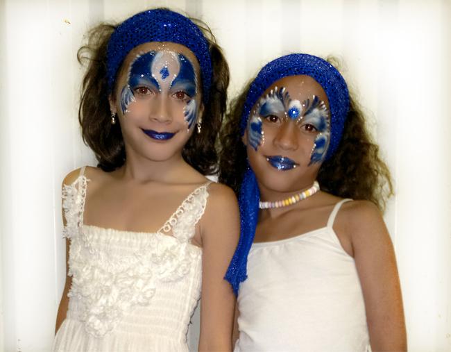 maquillage enfant festival cubain gala de danse