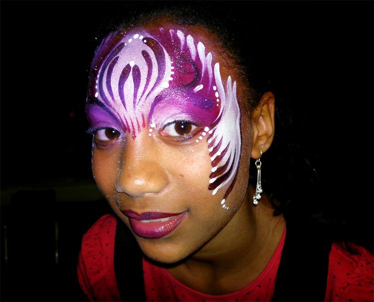 maquillage enfant festival cubain fête de l'école de danse